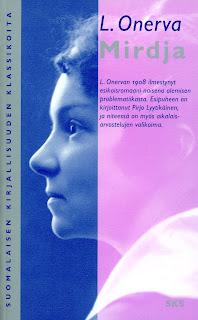 L. Onerva - Mirdja -kirjan kansi