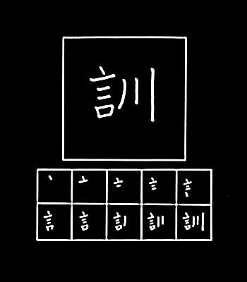 kanji latihan