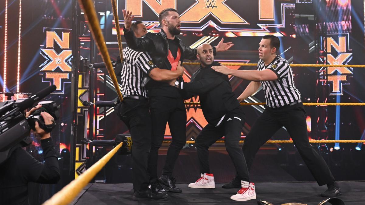 Finn Balor on WWE NXT