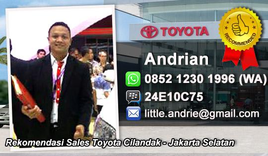 Toyota Cilancak Jakarta Selatan