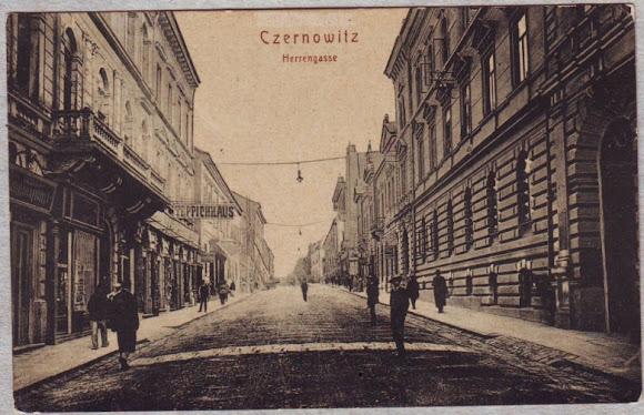 Черновцы. Czernowitz Postcard Album