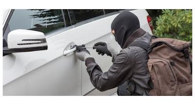 حفوز :العثور على سيارة مخبأة بأحد الاودية