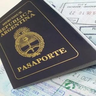 Pasaportes con cambios