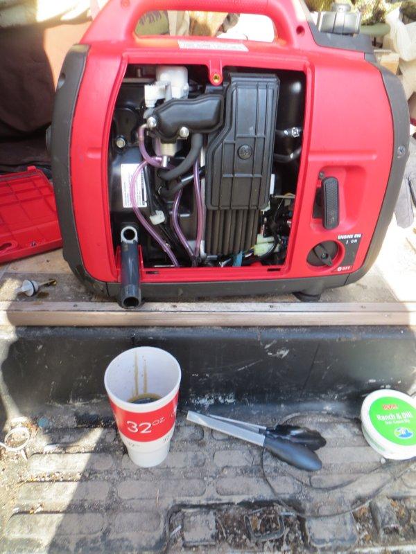 A Little TLC for the Honda EU2000i Generator – Van Trekker