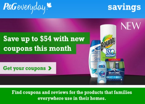 P&G SmartSource.ca Coupons