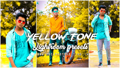 Yellow Tone Lightroom Presets