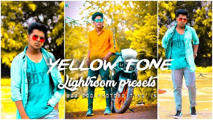 Yellow Tone Lightroom Presets/lightroom Mobile Presets Free Download