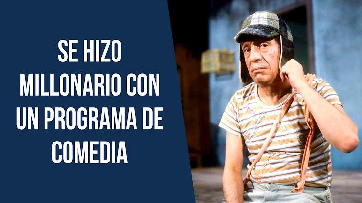 La historia de Roberto Gómez Bolaños, creador de El Chavo del 8
