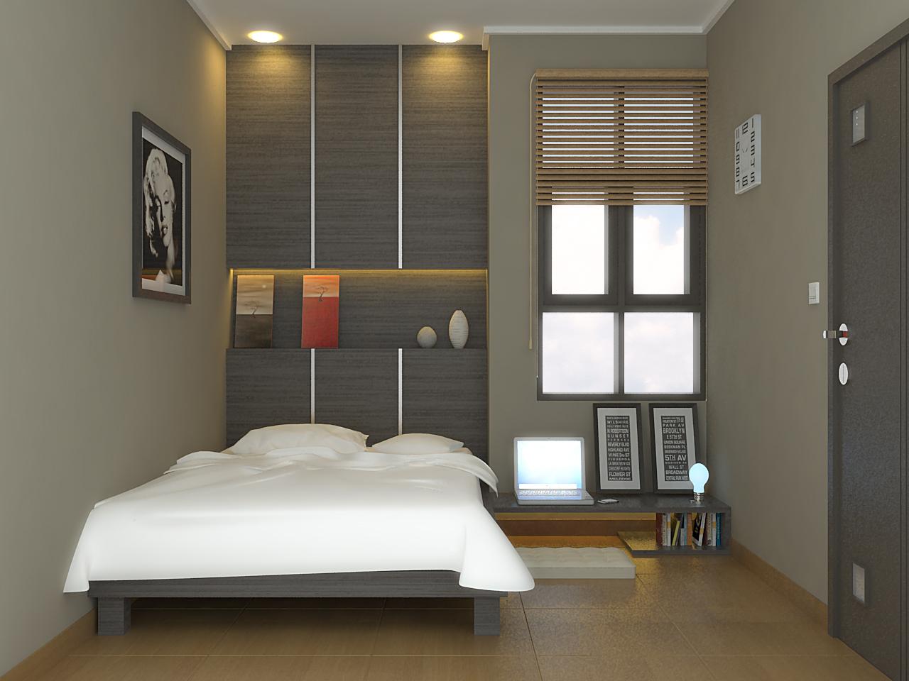 Tips Menata Tempat Tidur untuk Ruang Kamar Sempit ...
