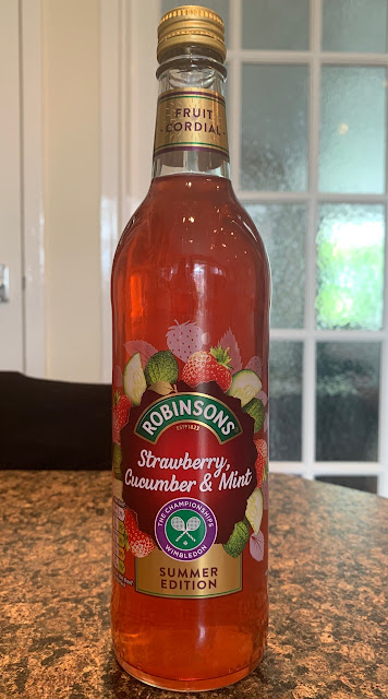 Robinsons Strawberry, Cucumber and Mint Cordial (Sainsbury's) By @Cinabar