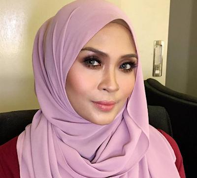 Siti Nordiana tanpa make up