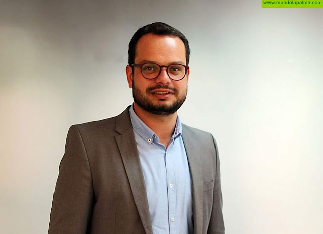 """Jordi Pérez Camacho: """"Nos preocupa que La Palma sea la isla con peor índice de confianza de las empresas en el futuro"""""""