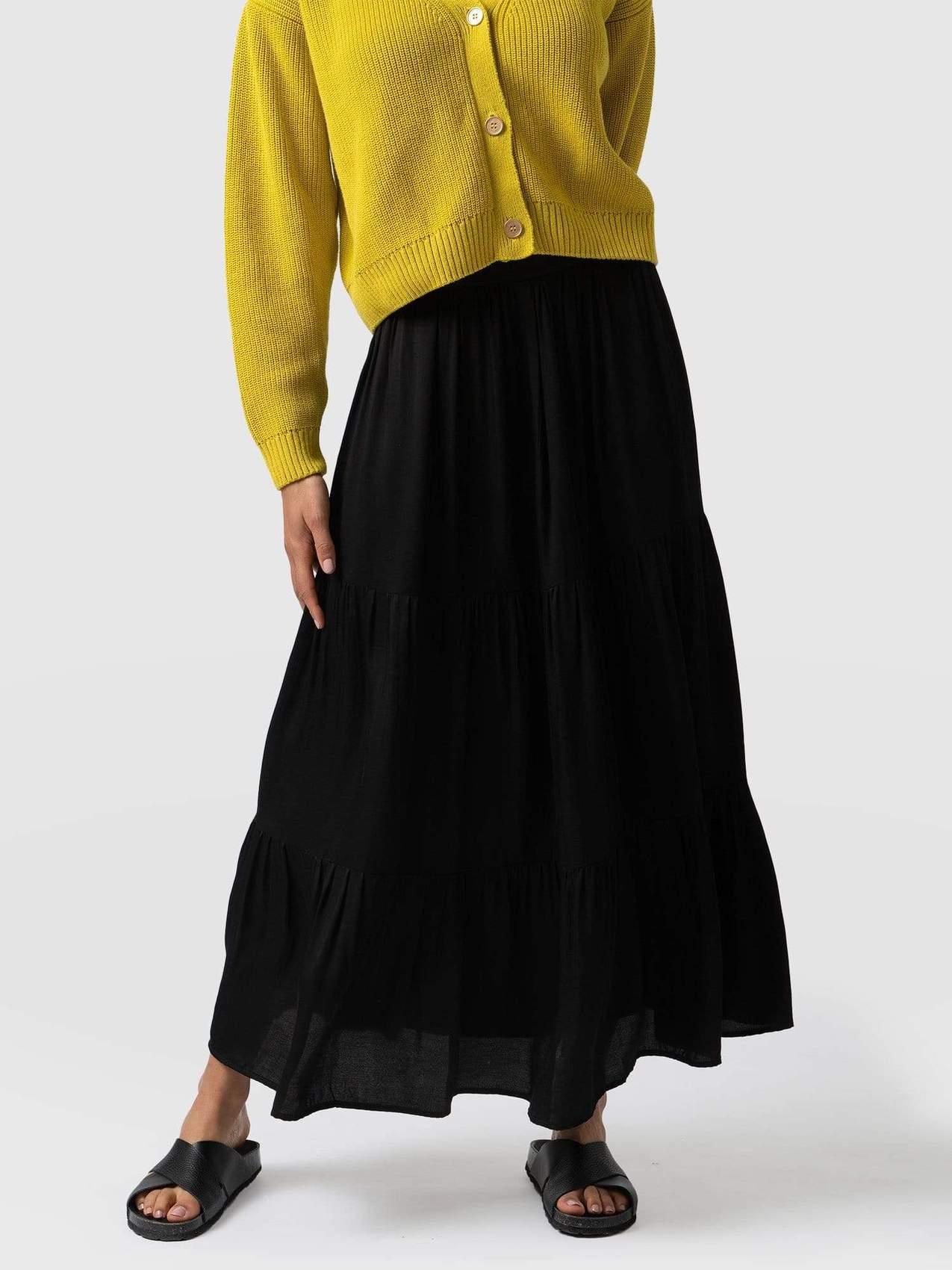 my midlife fashion, saint and Sofia greenwich skirt