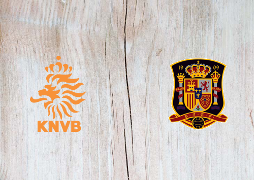 Netherlands vs Spain -Highlights 11 November 2020