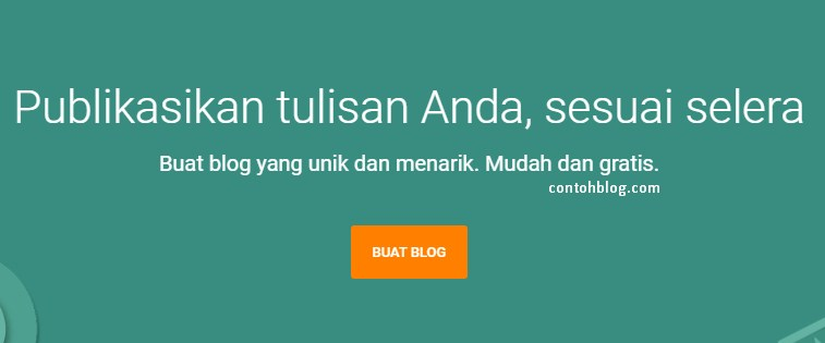 buat blog blogger
