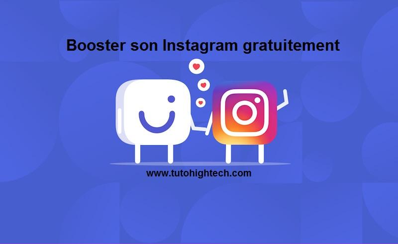 Combin : Booster, Promouvoir son compte Instagram Gratuitement