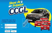 Participar da Promoção CCGL 2016 Show de Prêmios