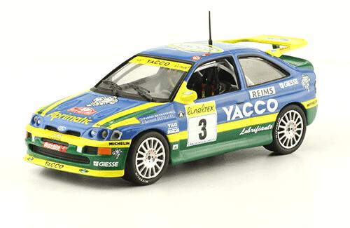 collezione rally monte carlo Ford Escort RS Cosworth 1996 Patrick Bernardini - Bernard Occelli