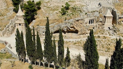τάφος του Ζαχαρία, Tomb of prophet Zechariah Valle del Kidron