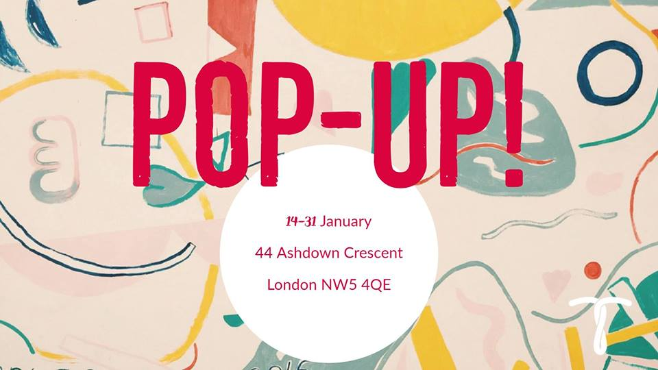 Thraedable's Pop-up Shop & Exhibition in NW5