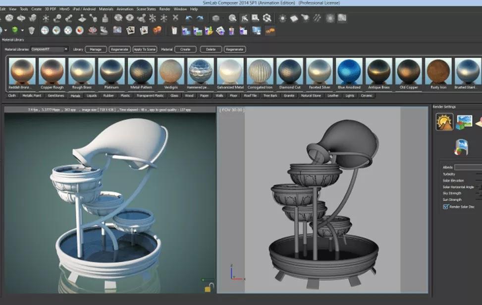 تحميل برنامج SimLab Composer 10.6 لإنشاء مشاهد ثلاثية الأبعاد