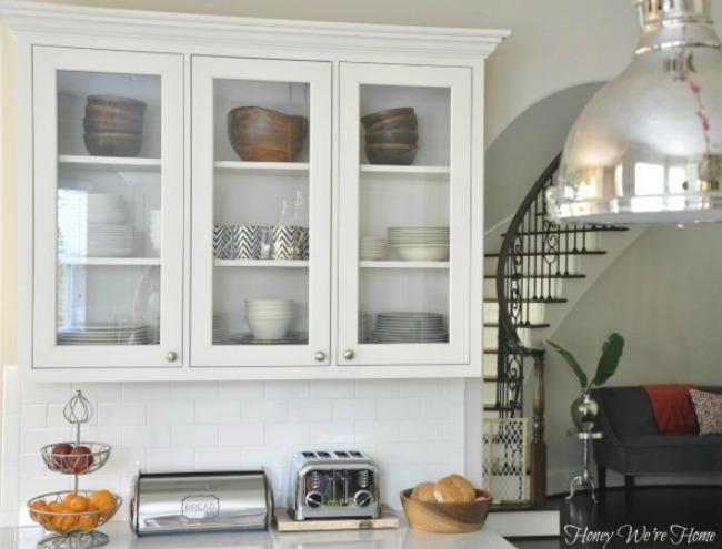 Open Kitchen Shelving Home Design Interior