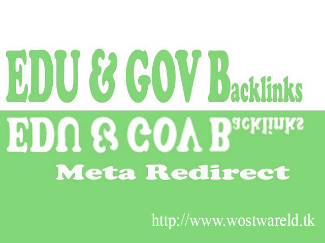 Get Free .Edu And .Gov Backlinks