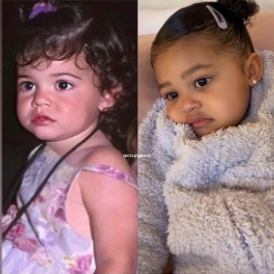 Kylie Jenner and daughter Stormi Webster are total lookalikes!