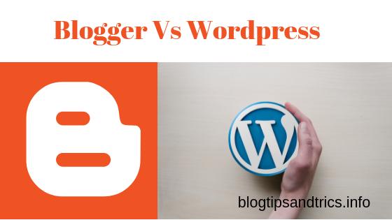 Wordpress क्या है - Wordpress और blogger में कौन अच्छा है?