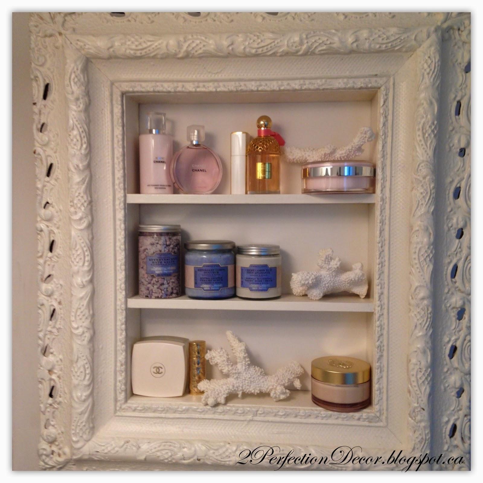 2perfection Decor Coventry Gray White Bathroom Makeover