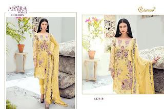 Pakistani Suits Catalogue | Cosmos Aayra vol 11