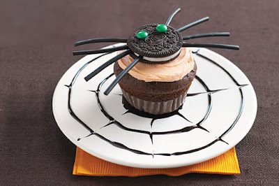 Fast & Easy Spooky Spider Cupcakes for Halloween