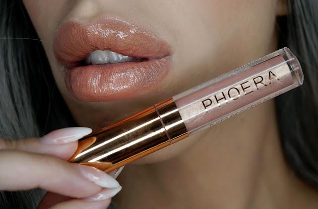 PHOERA Sheer Iridescent Lip Luminizer russell 309 review