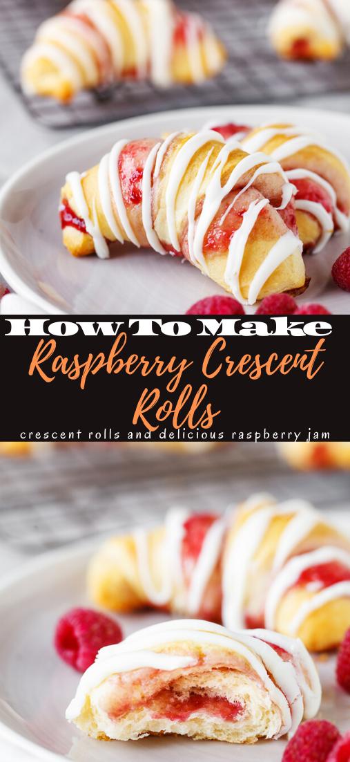 Raspberry Crescent Rolls #desserts #cakerecipe #chocolate #fingerfood #easy