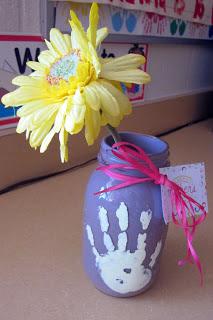 pintar floreros para el dia de la madre