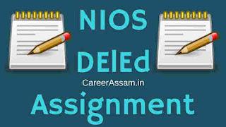 NIOS DelEd Assignment