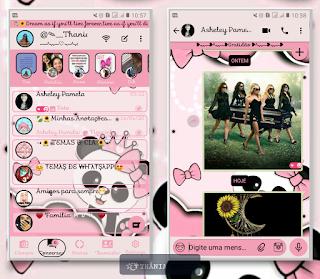 Panda Cute Theme For YOWhatsApp & KM WhatsApp By Thania