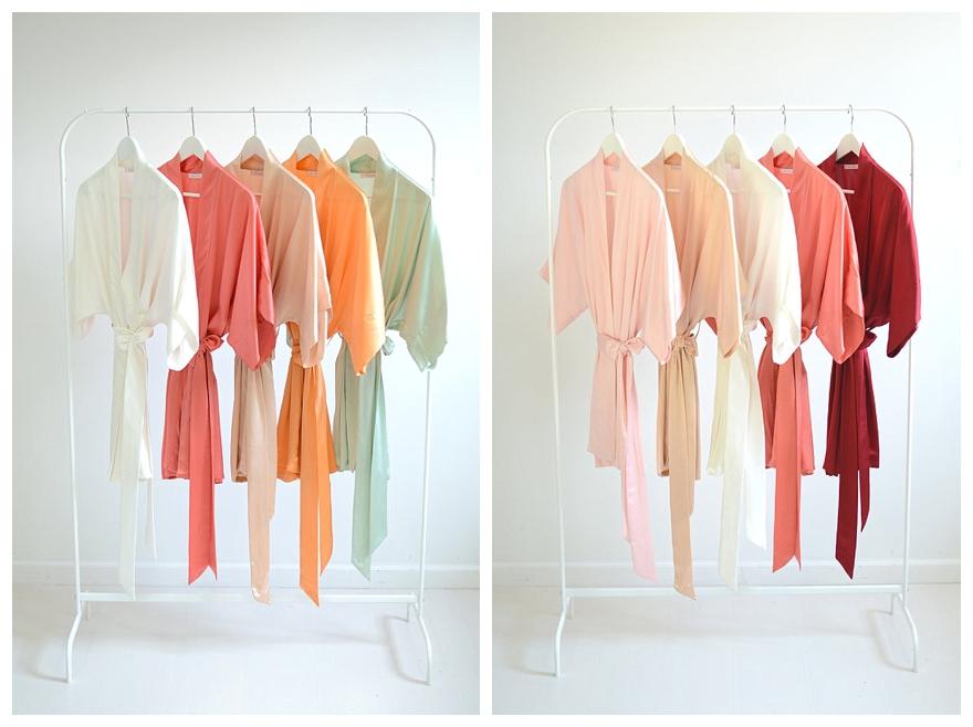 f365fc9425 Brilliant Bridesmaid  Dressing  Gowns