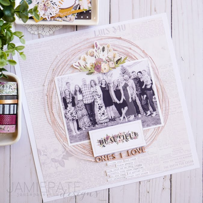 Pink Paislee Auburn Lane Paper Projects by Jamie Pate | @jamiepate for @pinkpaislee