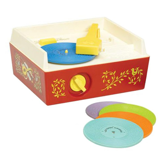 Harris Sisters Fisher Price Record Player
