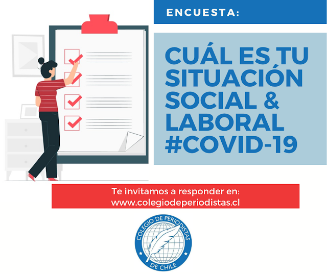#Covid-19: Lanzan encuesta para conocer situación laboral y social de periodistas y comunicadores