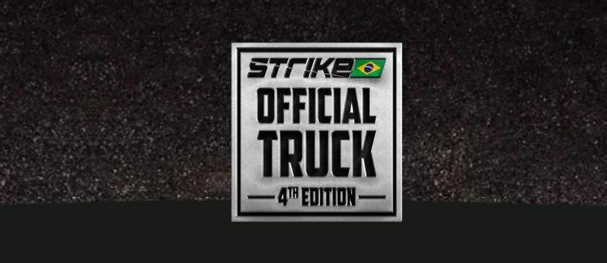 Promoção 2020 Strike Brasil Official Truck - Cadastrar, Prêmios