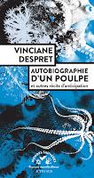 Vinciane Despret Autobiographie d'un poulpe actes sud