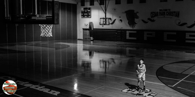 "Featured in the article: ""How To Motivate Youth Basketball Players"". Be Specific, Be Practical. Young basketball player shooting practice."