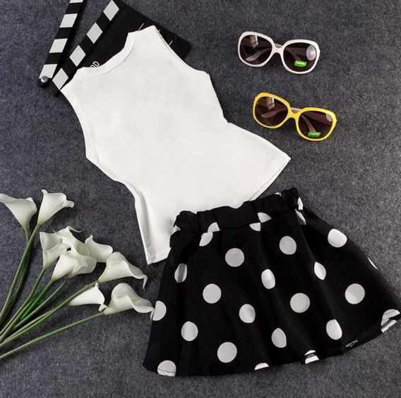 Летний комплект в винтажном стиле