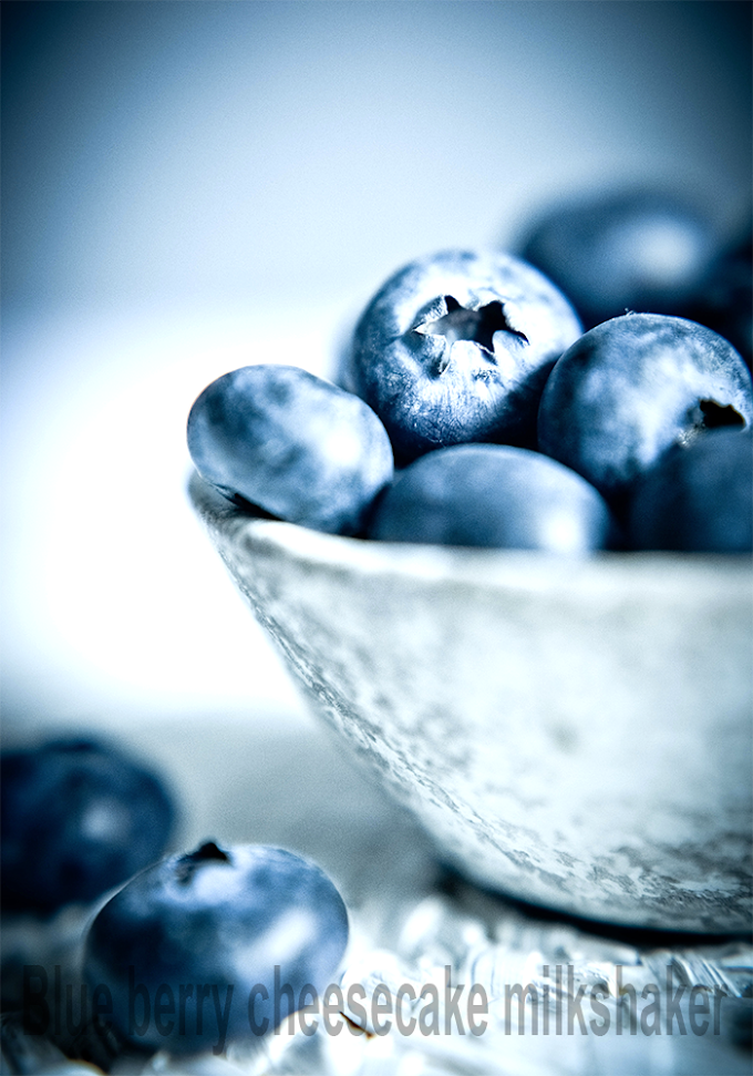 Super easy - Blueberry cheesecake milkshake | Cooksbeautiful