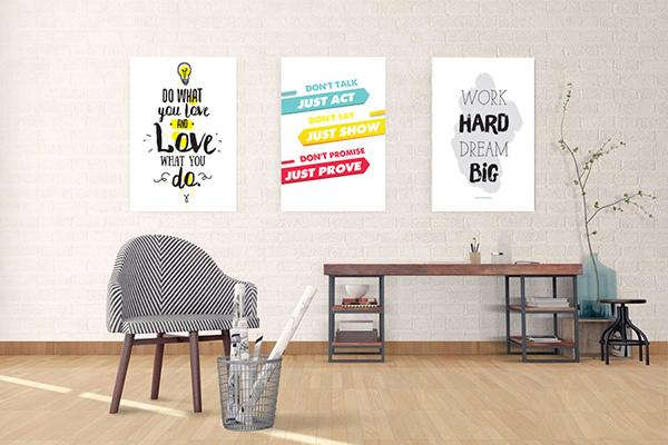 Tranh trang trí văn phòng tạo cảm hứng làm việc