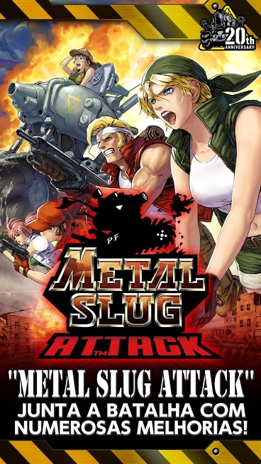 Metal Slug Attack APK MOD AP Infinito 2021 v 6.9.0