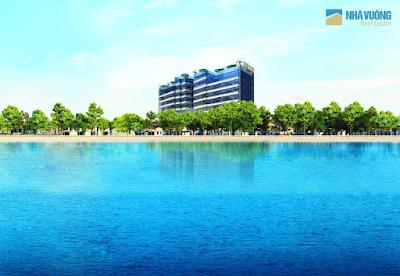 Núi Trúc Square  căn hộ cao cấp bên hồ