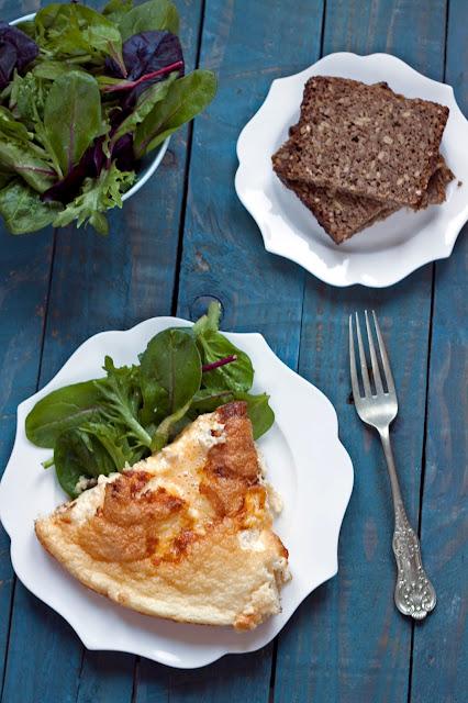 omlet z rybą